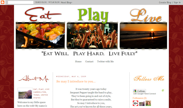 Dawn has a gorgeous new blog design that she has just unveiled