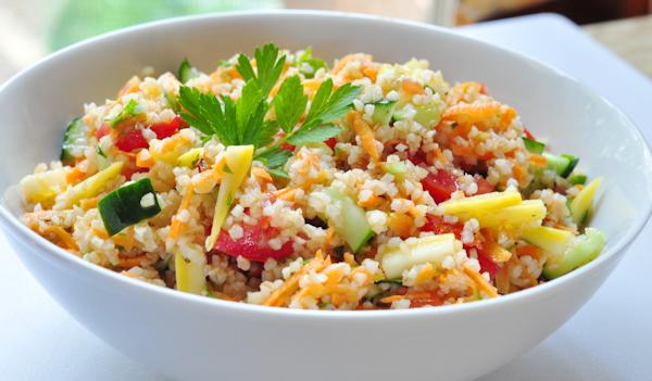 Bulgur Veggie Salad