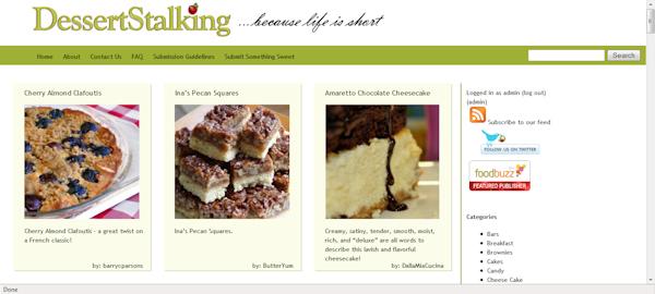 DessertStalking.com