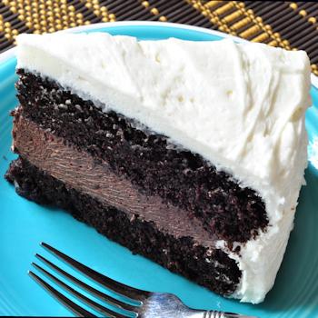 Buttermilk Bourbon Chocolate Cake | dlyn