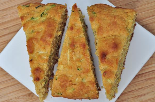 Sweet Zucchini Cornbread