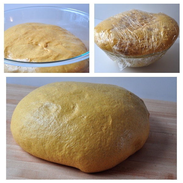 winter squash sandwich bread dough