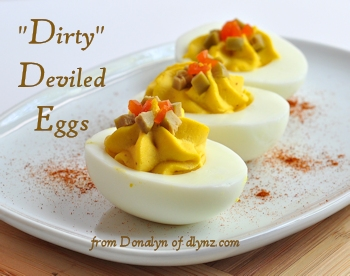 dirty deviled eggs from dlynz.com